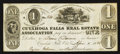Obsoletes By State:Ohio, Cuyahoga Falls, OH--Cuyahoga Falls Real Estate Association $1 April1, 1838. ...