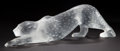Art Glass:Lalique, LALIQUE CLEAR AND FROSTED GLASS PANTHERE . Circa 2000.Engraved: Lalique, France . 14-1/4 inches long (36.2 cm)...