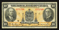 Canadian Currency: , Montreal, PQ - The Royal Bank of Canada $10 Jan. 2, 1935 Ch. # 630-18-04a. ...