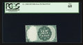 Fractional Currency:Fifth Issue, 25¢ Fifth Issue Back Proof PCGS New 60.. ...