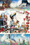 "Original Comic Art:Panel Pages, Arthur Suydam ""Mudwogs"" Page Original Art (c. 1990s)...."