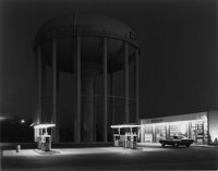 GEORGE TICE (American, b. 1938) Petit's Mobil Station, Cherry Hill, NJ, 1974 Gelatin silver, 1980