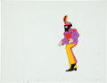 "Music Memorabilia:Original Art, Beatles Yellow Submarine ""Sgt. Pepper John"" AnimationProduction Cel Original Art (United Artists/King Features, 1..."