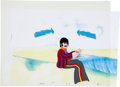 "Music Memorabilia:Original Art, Beatles Yellow Submarine ""Ringo"" Animation Production CelOriginal Art (United Artists/King Features, 1968).. ... (Total: 2Items)"