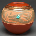 American Indian Art:Pottery, A SAN ILDEFONSO POLYCHROME JAR. Russell Sanchez. c. 2000...