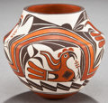 American Indian Art:Pottery, AN ACOMA POLYCHROME JAR. Barbara and Joseph Cerno. ...