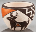 American Indian Art:Pottery, AN ACOMA POLYCHROME JAR. Lucy M. Lewis...