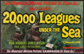 "Movie Posters:Science Fiction, 20,000 Leagues Under the Sea (Buena Vista, 1954). Uncut Pressbook(Multiple Pages, 13.5"" X 21.5""). Science Fiction.. ..."