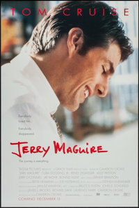 """Jerry Maguire (Tri-Star, 1996). One Sheet (26.5"""" X 39.5"""") DS Advance. Drama"""