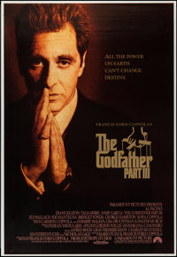 """The Godfather Part III (Paramount, 1990). One Sheet (28"""" X 41""""). Crime"""