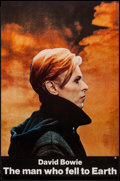 """Movie Posters:Science Fiction, The Man Who Fell to Earth (Cinema 5, 1976). One Sheet (27"""" X 41""""). Science Fiction.. ..."""