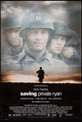 "Movie Posters:War, Saving Private Ryan (Paramount, 1998). One Sheets (2) (27"" X 40"") DS Regular & Advance. War.. ... (Total: 2 Items)"