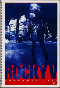 "Rocky V (MGM/UA, 1990). Printer's Proof One Sheet (28"" X 41"") SS Advance. Sports"