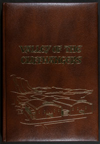 "Valley of the Cliffhangers (Jack Mathis, 1975). Limited Edition Hardcover Book (448 Pages, 12.5"" X 17.5""). Ser..."