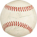 Autographs:Baseballs, 1960 St. Louis Cardinals Team Signed Baseball....