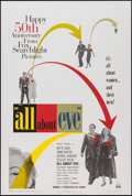 "Movie Posters:Academy Award Winners, All About Eve (20th Century Fox Searchlight, R-2000). One Sheet(26.75"" X 39.5""). Academy Award Winners.. ..."