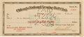 Autographs:Checks, 1924 Bobby Wallace Signed Chicago Cubs Payroll Check....