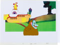"Music Memorabilia:Original Art, Beatles Yellow Submarine ""Jeremy Boob"" Animation ProductionCel Original Art (United Artists/King Features, 1968).... (Total: 2Items)"