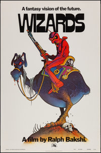 """Wizards (20th Century Fox, 1977). One Sheet (27"""" X 41"""") Teaser. Animation"""