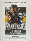 "Movie Posters:Comedy, Young Frankenstein (20th Century Fox, 1974). French Grande (47"" X 63""). Comedy.. ..."