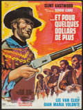 """Movie Posters:Western, For a Few Dollars More (United Artists, 1967). French Affiche(22.5"""" X 30.5""""). Western.. ..."""