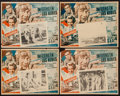 "Movie Posters:War, Flying Leathernecks (Grandes Films, 1951). Mexican Lobby Cards (7)(12.5"" X 15.5""). War.. ... (Total: 7 Items)"
