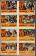 """Movie Posters:Western, Gunfight at the O.K. Corral (Paramount, R-1963). Lobby Card Set of 8 (11"""" X 14""""). Western.. ... (Total: 8 Items)"""
