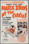 """Movie Posters:Comedy, At the Circus (MGM, R-1962). One Sheet (27"""" X 41""""). Comedy.. ..."""