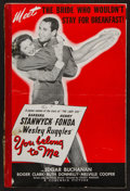 "Movie Posters:Romance, You Belong to Me (Columbia, 1941). Uncut Pressbook (36 Pages, 12"" X 18.5""). Romance.. ..."