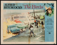 "The Birds (Universal, 1963). Lobby Card (11"" X 14""). Hitchcock"