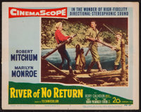 "River of No Return & Others Lot (20th Century Fox, 1954). Lobby Card (11"" X 14"") & Photos (2)..."