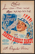 "Movie Posters:Musical, Yankee Doodle Dandy (Warner Brothers, 1942). Window Card (14"" X22""). Musical.. ..."