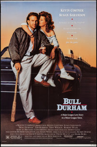 "Bull Durham (Orion, 1988). One Sheet (27"" X 41""). Sports"