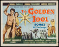 "Movie Posters:Adventure, The Golden Idol and Others Lot (Allied Artists, 1954). Half Sheet(22"" X 28""), and Inserts (2) (14"" X 36""). Adventure.. ... (Total: 3Items)"