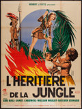 "Movie Posters:Adventure, Daughter of the Jungle (Republic, 1951). French Grande (47"" X 63"").Adventure.. ..."