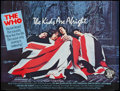 "Movie Posters:Rock and Roll, The Kids Are Alright (Brent Walker Film Distributing, 1979).British Quad (30"" X 40""). Rock and Roll.. ..."