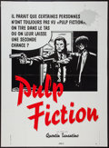 "Movie Posters:Crime, Pulp Fiction (Miramax, 1995). French Grande (45"" X 61.5"") ComicsStyle. Crime.. ..."