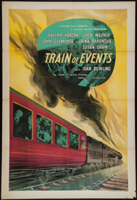 "Train of Events (Eagle Lion, 1949). British One Sheet (27"" X 40""). Thriller"