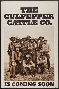 """The Culpepper Cattle Co. & Others Lot (20th Century Fox, 1972). One Sheets (3) (27"""" X 41"""") Regular &am..."""