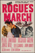 "Movie Posters:War, Rogue's March (MGM, 1953). One Sheet (27"" X 41""). War.. ..."