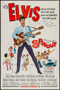 """Spinout (MGM, 1966). One Sheet (27"""" X 41""""). Elvis Presley"""