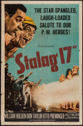 "Movie Posters:War, Stalag 17 (Paramount, 1953). One Sheet (27"" X 41""). War.. ..."