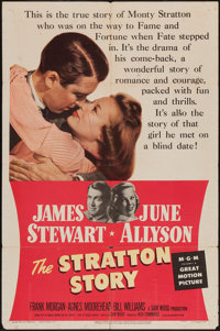 "The Stratton Story (MGM, 1949). One Sheet (27"" X 41""). Sports"