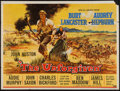 "Movie Posters:Western, The Unforgiven (United Artists, 1960). British Quad (30"" X 40""). Western.. ..."
