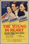 "Movie Posters:Comedy, The Young in Heart (Film Classics, R-1944). One Sheet (27"" X 41""). Comedy.. ..."