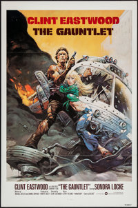 """The Gauntlet (Warner Brothers, 1977). One Sheet (27"""" X 41"""") Flat Folded. Action"""