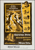 "Movie Posters:Adventure, Moby Dick (Warner Brothers, R-1970s). One Sheet (27.5"" X 39.5"").Adventure.. ..."