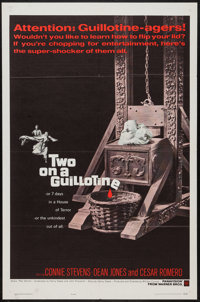 """Two on a Guillotine (Warner Brothers, 1965). One Sheet (27"""" X 41""""). Horror"""