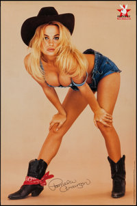 "Pamela Anderson/ Anna Marie Goddard Playboy Poster Lot (One Stop Poster, 1994). Personality Posters (2) (23"" X 35&q..."