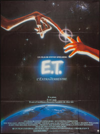 "E.T. The Extra-Terrestrial (Universal, 1982). Autographed French Grande (46"" X 62""). Science Fiction"